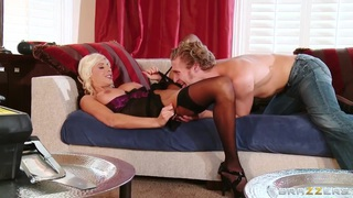 Fashionable Puma Swede having an affair with a guy with curly hair Thumbnail