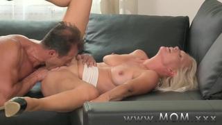 MOM Blonde MILF gets fucked hard Thumbnail