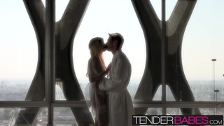 Tasha Reign begins her day with gentle light of morning sex Thumbnail