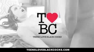 TeensLoveBlackCocks - Blonde Teen Fucks Black Cock For Revenge Thumbnail