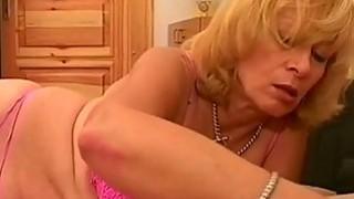 blonde granny sucking sleeping young cock Thumbnail