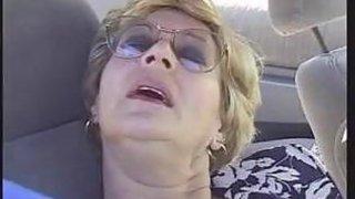 Grandma Fucked In The Car