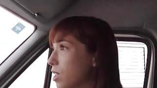 Teen girl Tina Hot gives head and nailed in ambulance Thumbnail