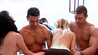 Hot guests enjoying in Foursome mansion Thumbnail