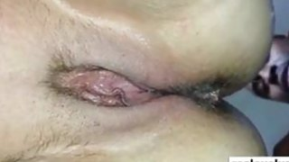 My wife with a big black cock in her ass Thumbnail