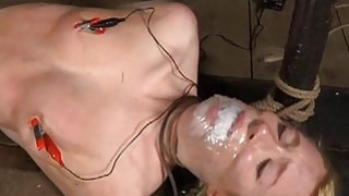 Cutie gets facial torture during bdsm play Thumbnail