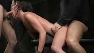 Bound Girl Brutally Gagged and Fucked Rough! Thumbnail