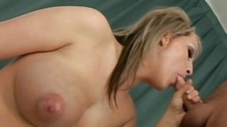 Pretty babe is hungry for weenie after dildo play Thumbnail
