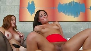 Milf Diamond Foxx and Amara Romani threesome Thumbnail
