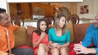 Layla and Nicole wants their first sexual intercouse was in a descent guy