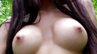 Hot babe Sasha Rose fucks outdoor Thumbnail