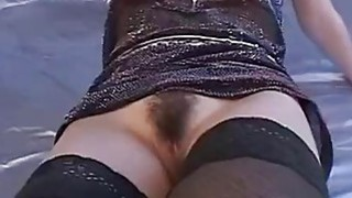 Trimmed asian pussy is toyed until squirts out Thumbnail