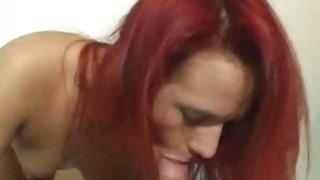 Amateur redhead does BJ until facial cumshot Thumbnail