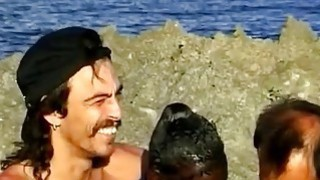 Sluty African Whore Fucked On A Beach In An Interracial Threesome Thumbnail