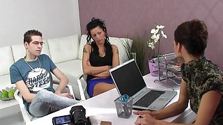 Female agent castings amateur couple Thumbnail