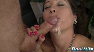 Long Haired Jamie Lynn Skye Auditions Her Mouth and Pussy for a Casting Thumbnail