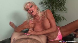 Granny Blowjob CHALLENGE  Sally Tortures His Big